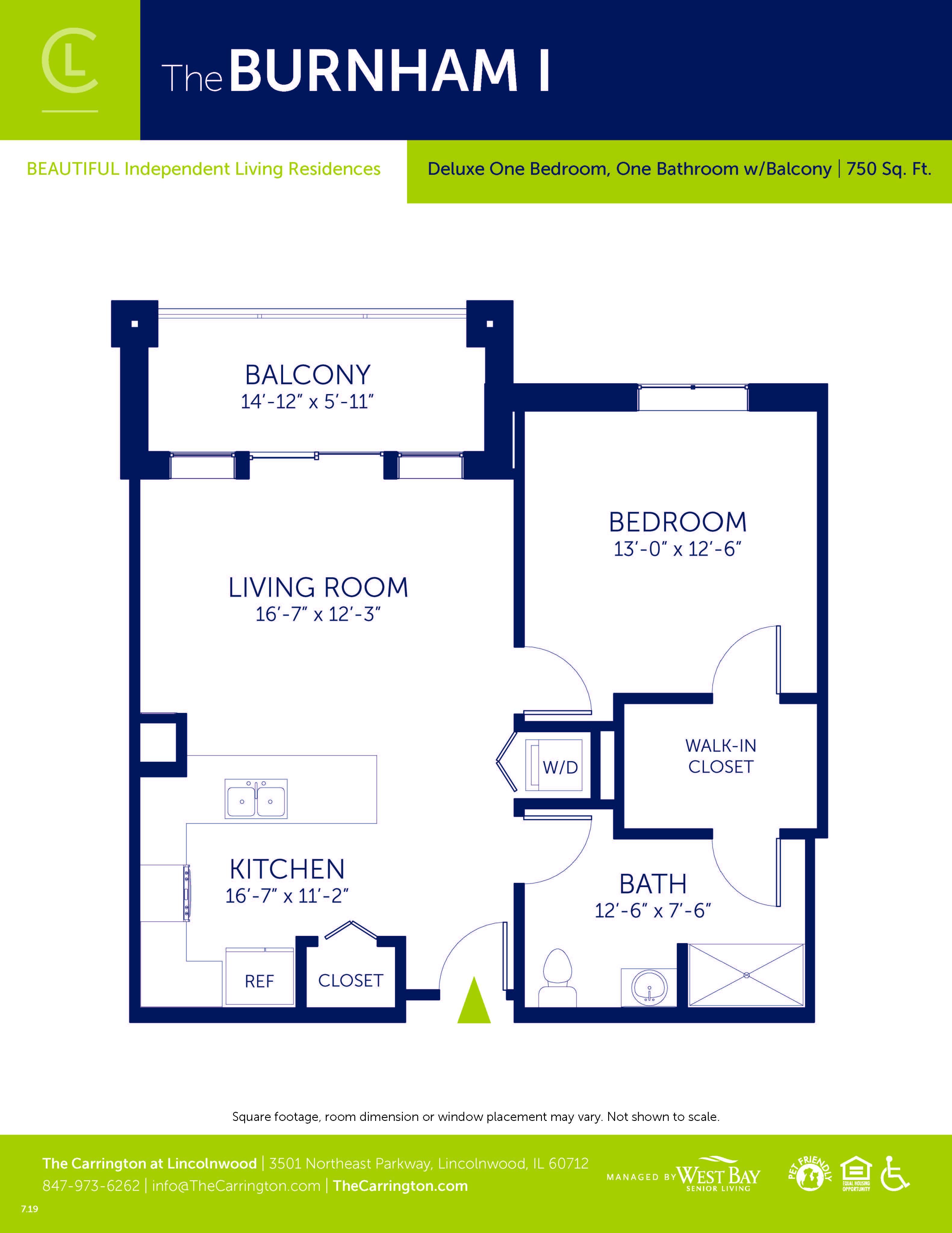 Burnham I - Deluxe Two Bedroom