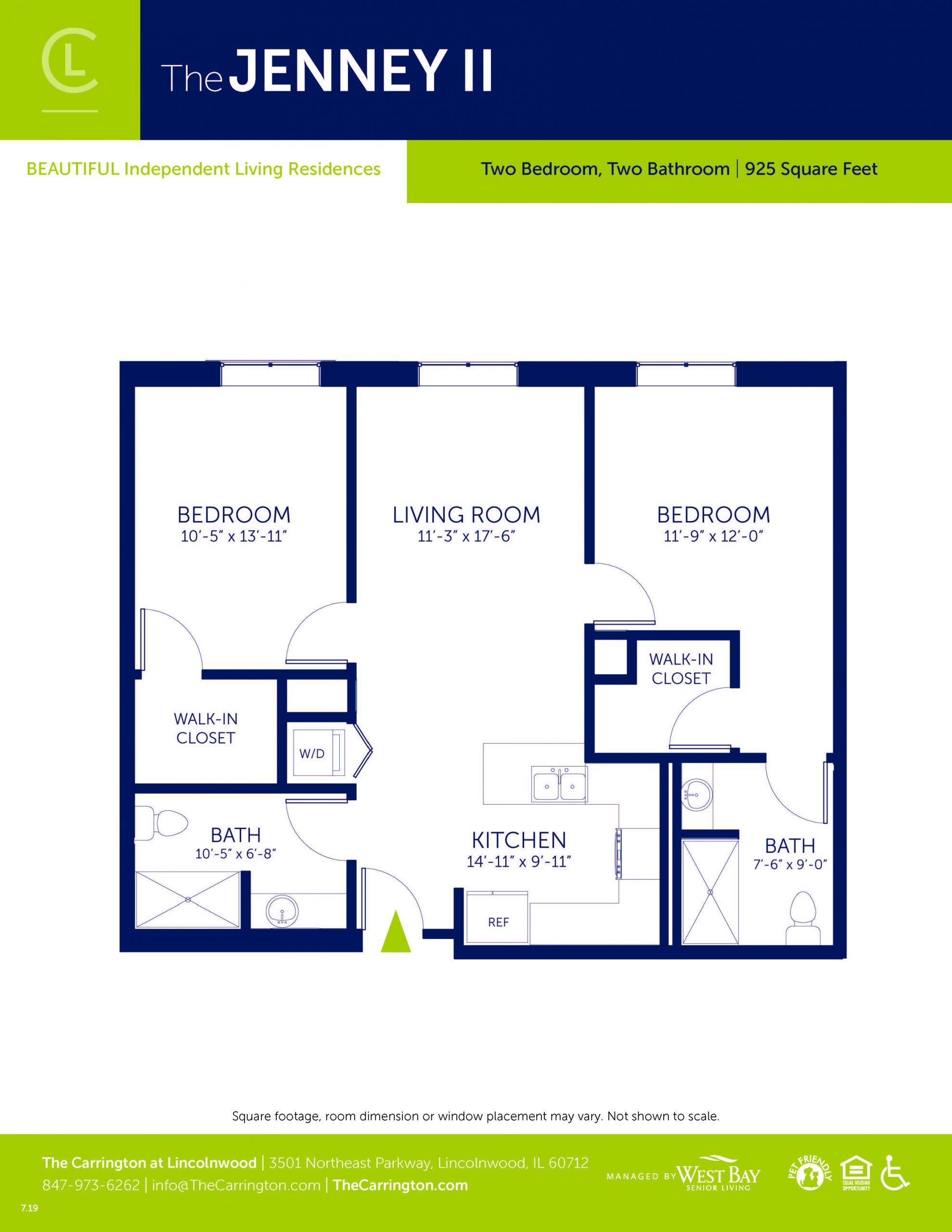 Jenney II - Two bedroom